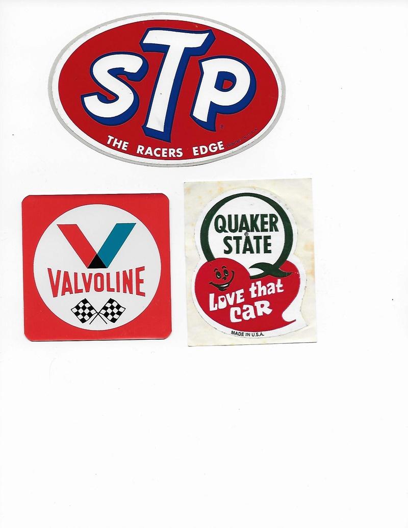 Stickers vintage en tout genre, Track, produit auto, dealer ect... Sticke11