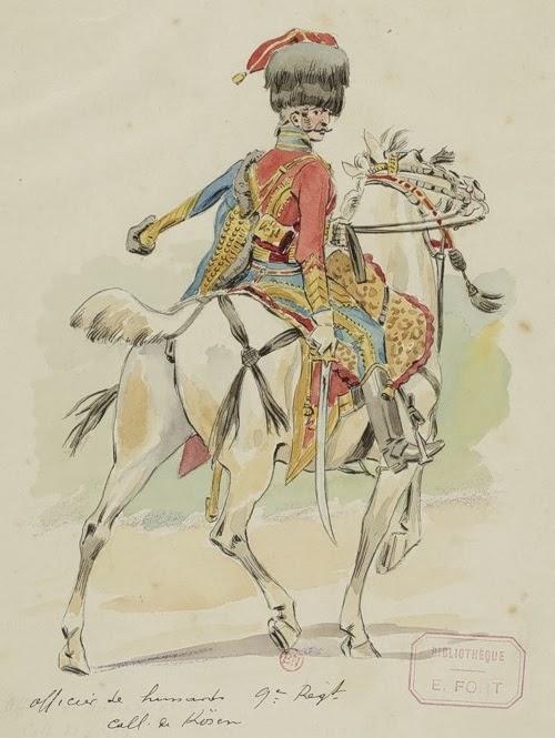 Louis-Charles-Gregoire Maignet colonnel du 9eme hussard 9_huss10