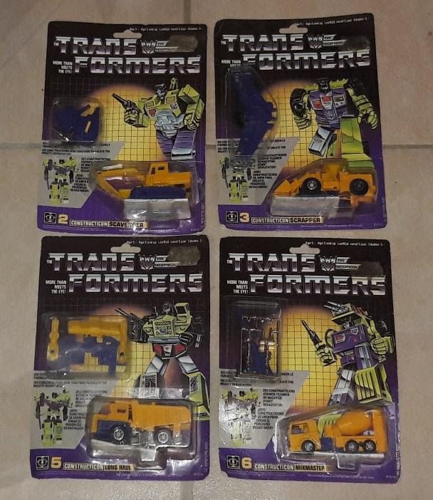 TRANSFORMERS G1 (Génération 1) : toute la gamme 00511
