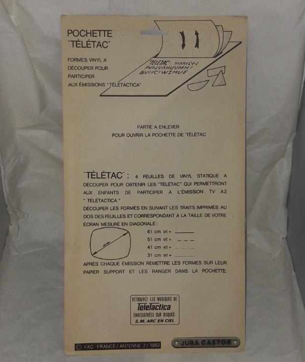 TELETACTICA - Télétac - Antenne 2 Teleta10