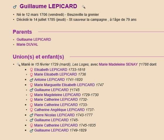 Sausseuzemare LEPICARD ~1741 Acte_g10