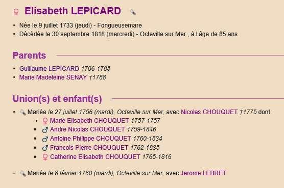 Sausseuzemare LEPICARD ~1741 Actes_12