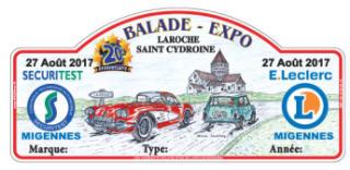 Laroche Saint-Cydroine (89).  Plaque12