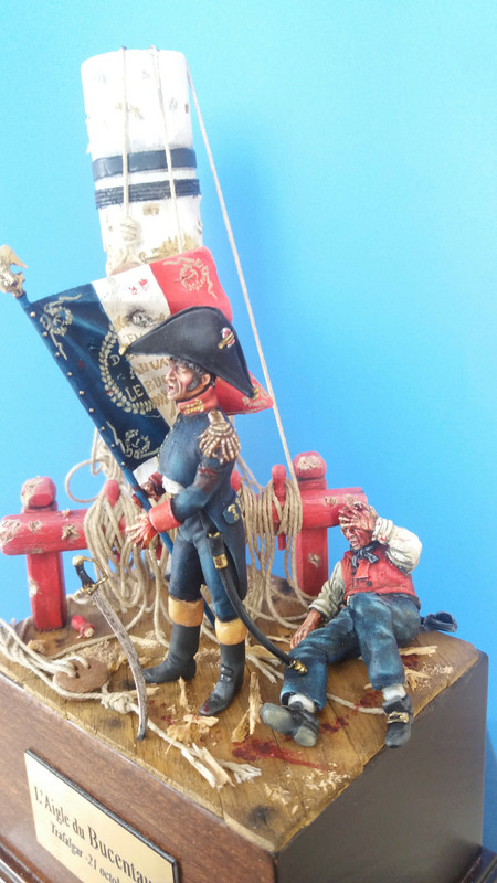 L Aigle du BUCENTAURE-Trafalgar 1805 11318010