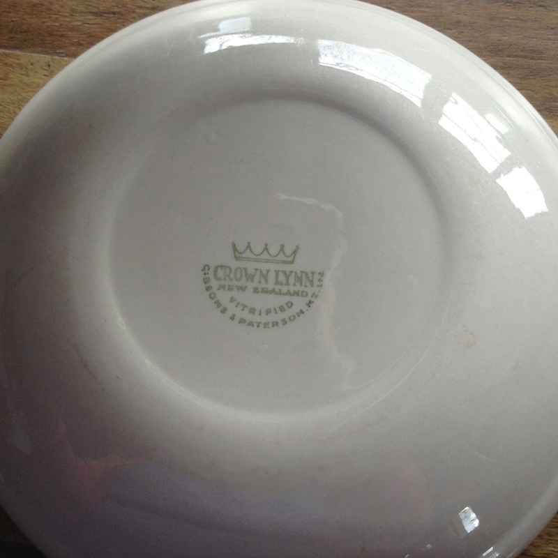 Te Kowhai saucer with Gibsons & Paterson backstamp 21151710