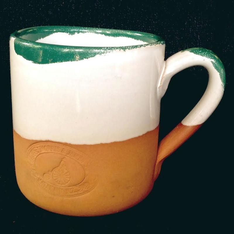 Morris & James terracotta mug Mj10