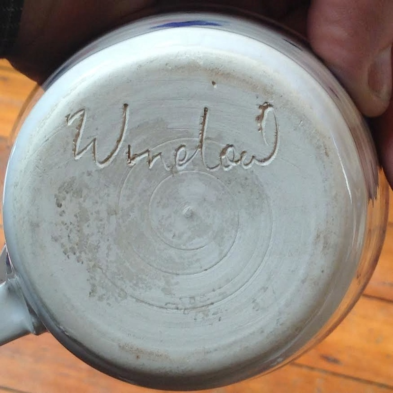 Looks like Winelow or Window: could this be Winslow Pottery? Winb10