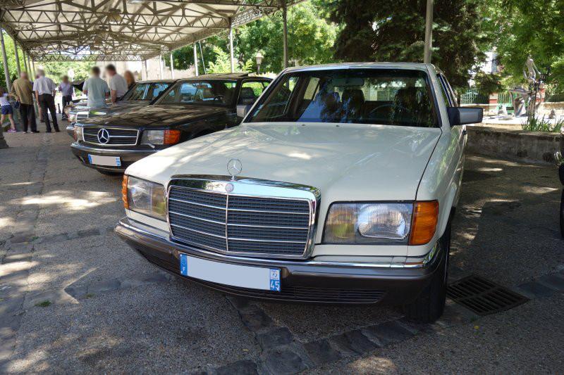 Rencontre privée Mercedes-Benz W 126 le dimanche 25 juin 2017 à Villennes sur Seine Img_0610