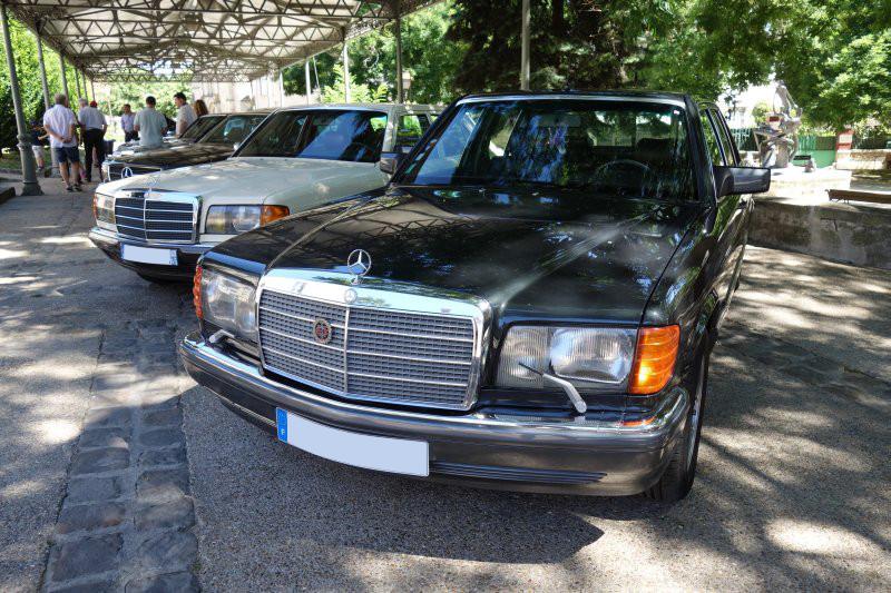 Rencontre privée Mercedes-Benz W 126 le dimanche 25 juin 2017 à Villennes sur Seine Img_0611