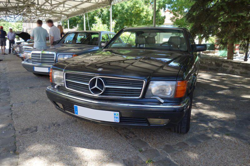 Rencontre privée Mercedes-Benz W 126 le dimanche 25 juin 2017 à Villennes sur Seine Img_0612