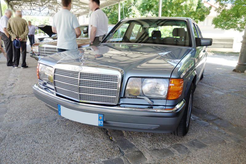 Rencontre privée Mercedes-Benz W 126 le dimanche 25 juin 2017 à Villennes sur Seine Img_0613