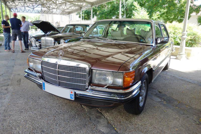 Rencontre privée Mercedes-Benz W 126 le dimanche 25 juin 2017 à Villennes sur Seine Img_0614