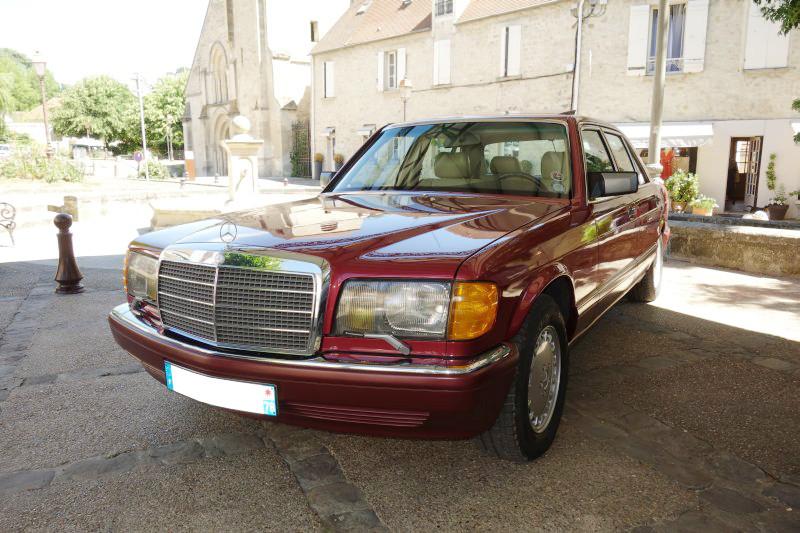 Rencontre privée Mercedes-Benz W 126 le dimanche 25 juin 2017 à Villennes sur Seine Img_0616