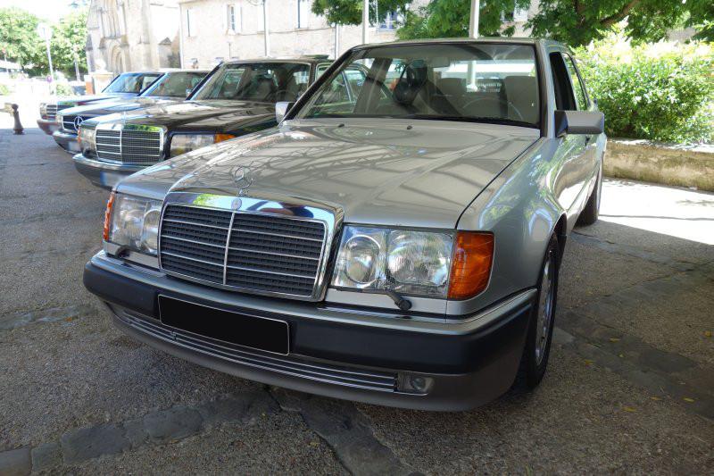 Rencontre privée Mercedes-Benz W 126 le dimanche 25 juin 2017 à Villennes sur Seine Img_0617