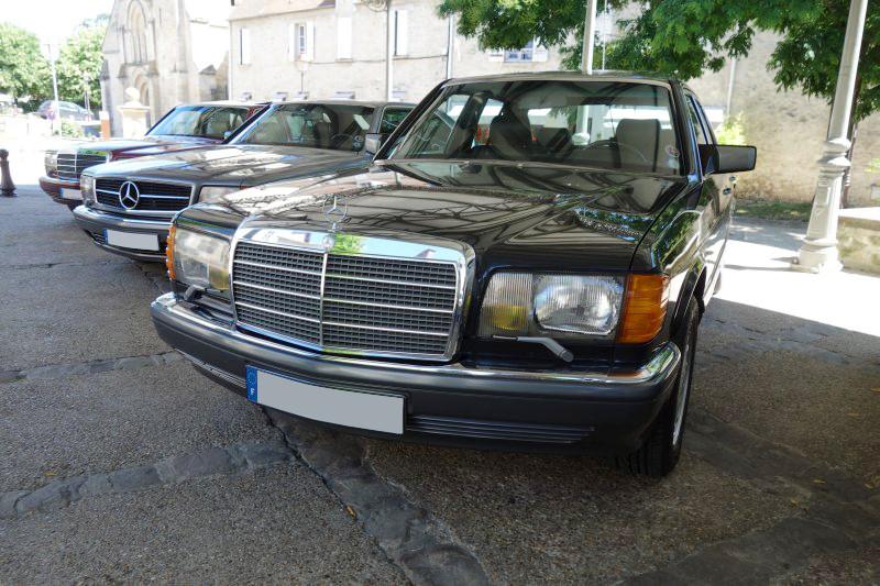 Rencontre privée Mercedes-Benz W 126 le dimanche 25 juin 2017 à Villennes sur Seine Img_0618
