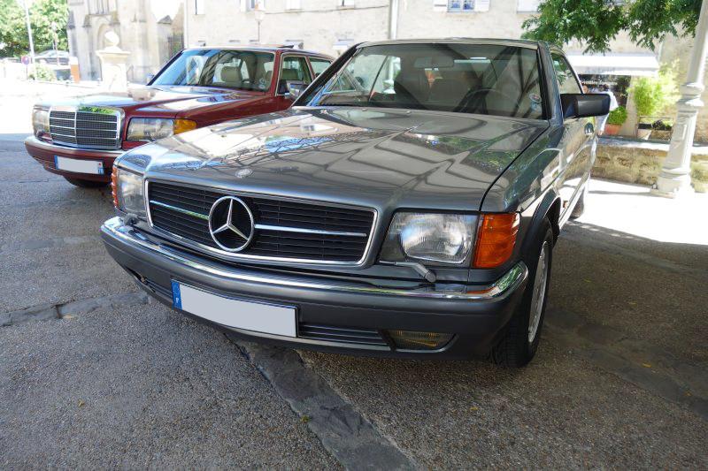 Rencontre privée Mercedes-Benz W 126 le dimanche 25 juin 2017 à Villennes sur Seine Img_0619