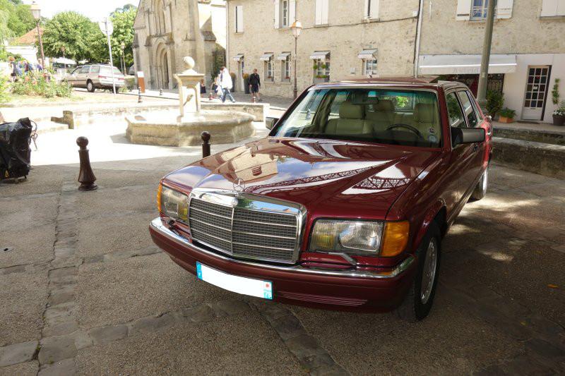 Rencontre privée Mercedes-Benz W 126 le dimanche 25 juin 2017 à Villennes sur Seine Img_0621