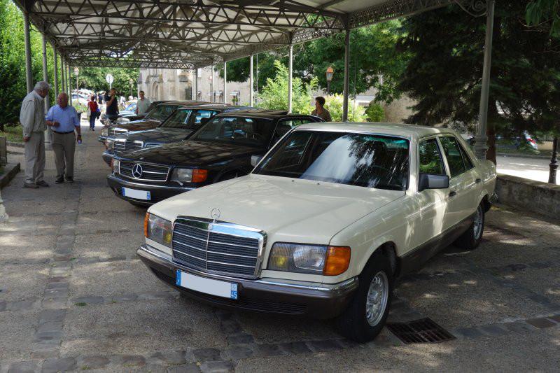 Rencontre privée Mercedes-Benz W 126 le dimanche 25 juin 2017 à Villennes sur Seine Img_0622