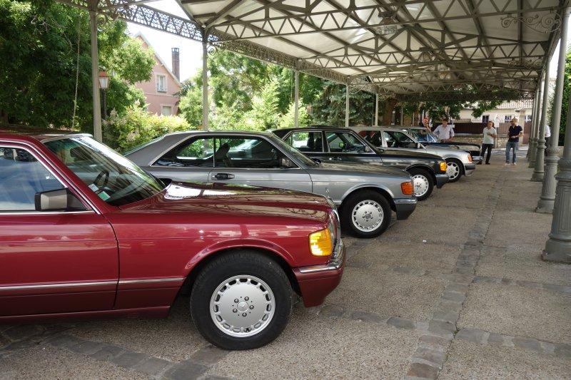 Rencontre privée Mercedes-Benz W 126 le dimanche 25 juin 2017 à Villennes sur Seine Img_0623