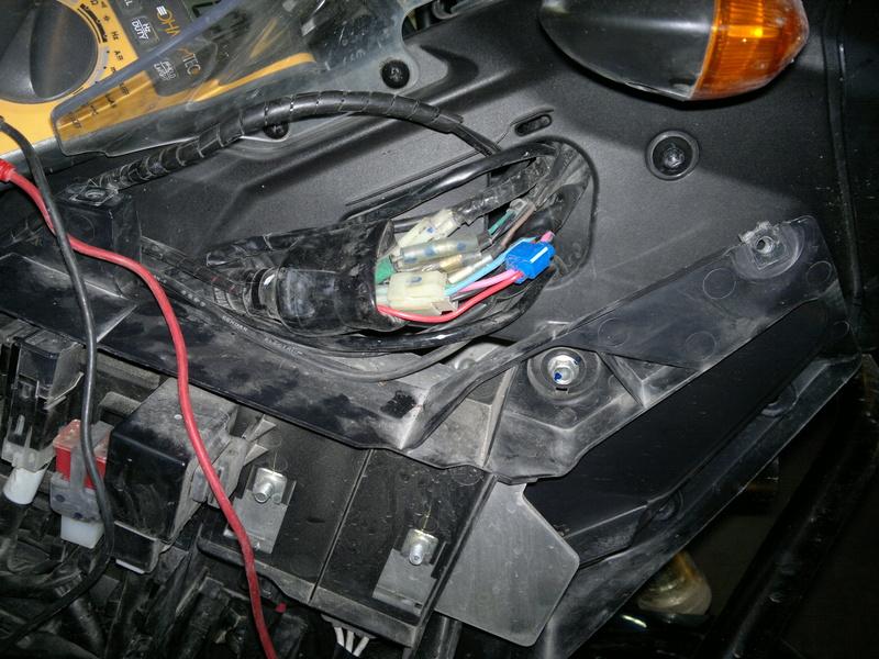Montage feux additionnels à LED 2012-110