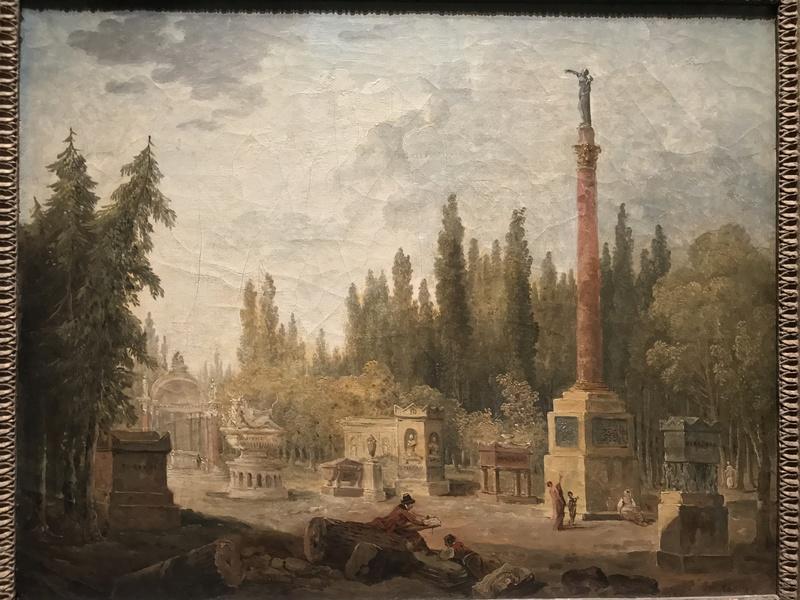 Hubert Robert et la fabrique des jardins à La Roche-Guyon D4798a10