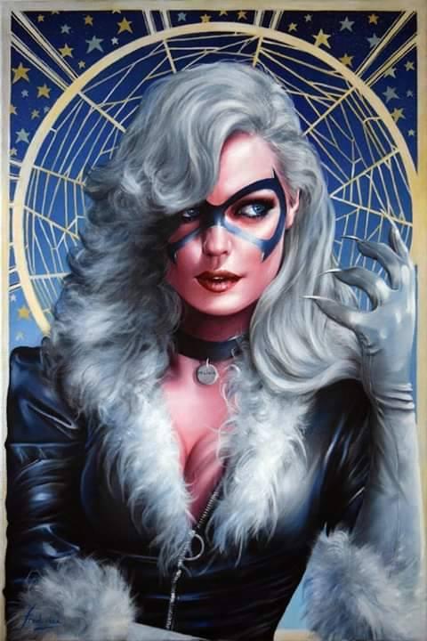 Marvelous girls #2# Black Cat (Modèle de Fred Ian) 54522610