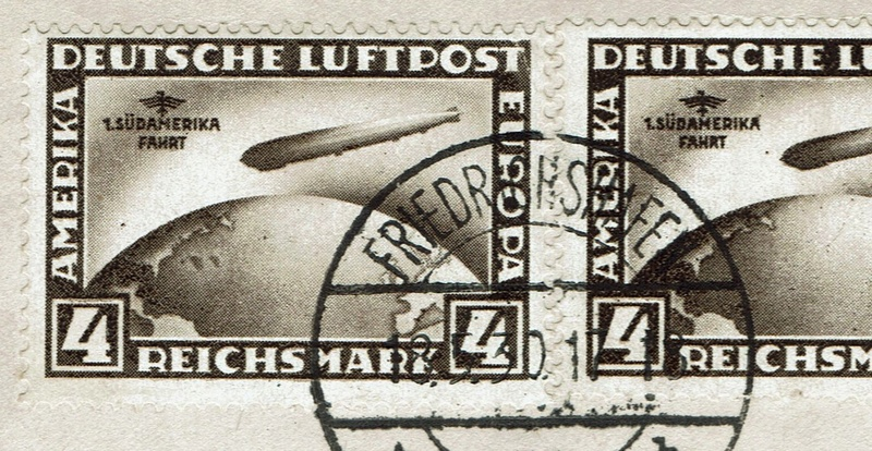 nach - Südamerikafahrt 1930, Post nach Pernambuco 439_in10