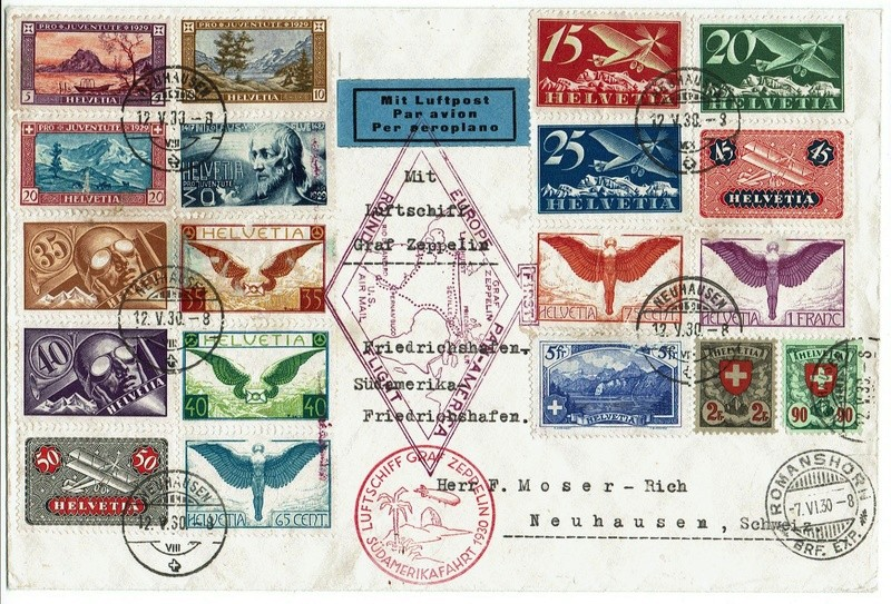 """nach - Südamerikafahrt 1930 (Rundfahrt-) Post nach Friedrichshafen"""" - Seite 7 57_p_b10"""