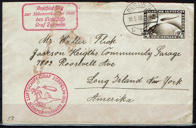 nach - Südamerikafahrt 1930, Post nach Pernambuco - Seite 3 57_r10