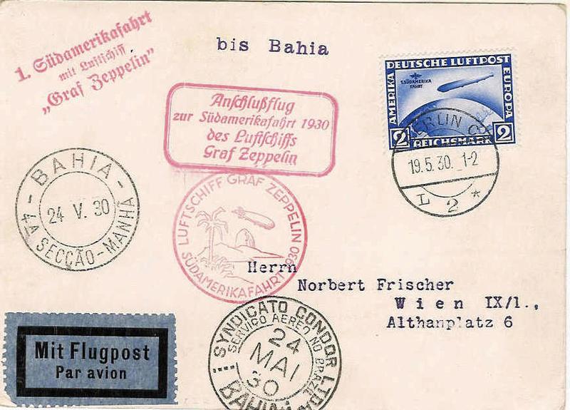 Südamerikafahrt 1930, Post nach (Salvador de) Bahia 57_s10