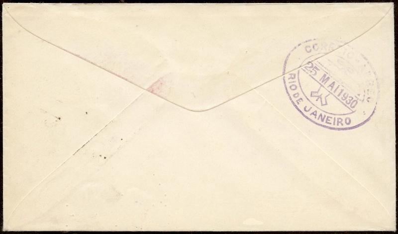nach - Südamerikafahrt 1930, Post nach Rio de Janeiro - Seite 3 58_dc_10