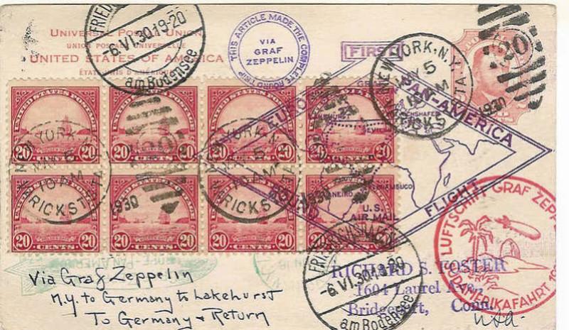 Zeppelinpost aus USA 64_k_110
