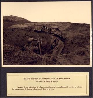 Le mortier de 81 mm T1927-11