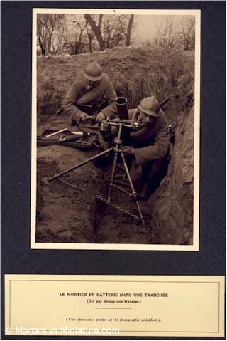 Le mortier de 81 mm T1927-12