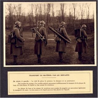 Le mortier de 81 mm T1927-13