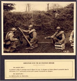 Le mortier de 81 mm T1927-14
