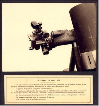 Le mortier de 81 mm T1927-15