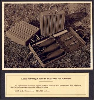 Le mortier de 81 mm T1927-16