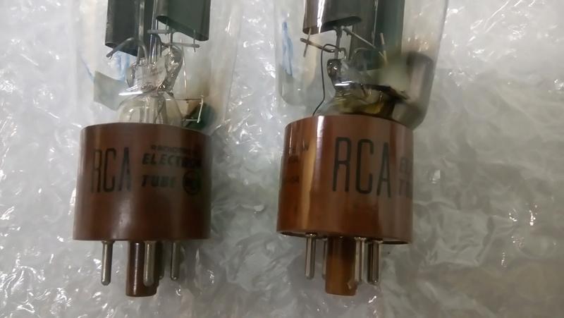 RCA 5R4GY (5U4G/ 5U4GB/ 5AR4/ GZ34) tube 0110