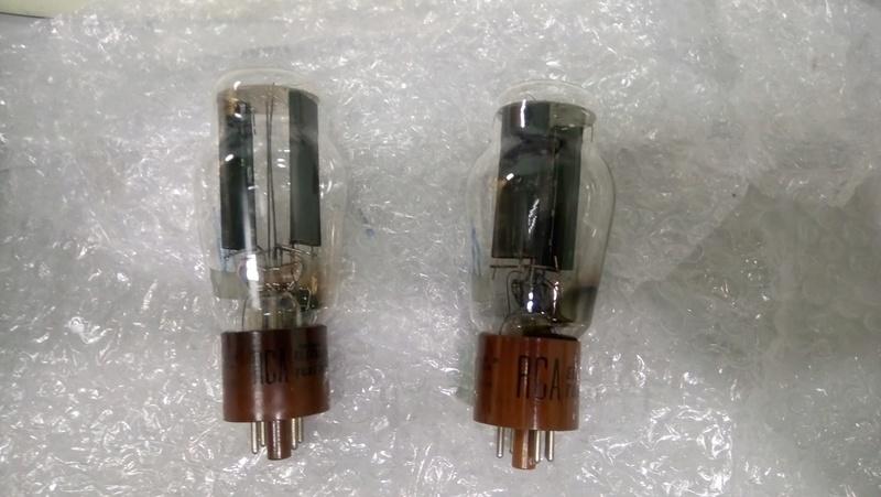RCA 5R4GY (5U4G/ 5U4GB/ 5AR4/ GZ34) tube 0210
