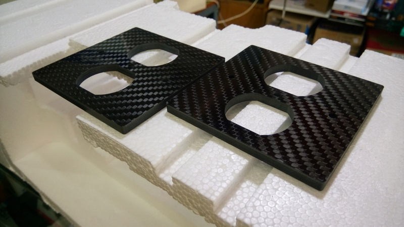 Carbon fiber Receptacle Cover Carbon12