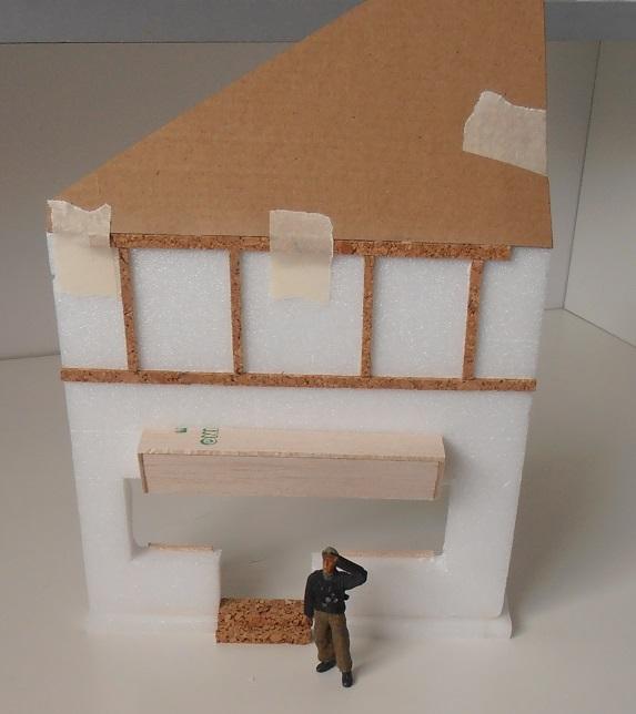 Maison au 1/35eme ( scratch ) P7271913