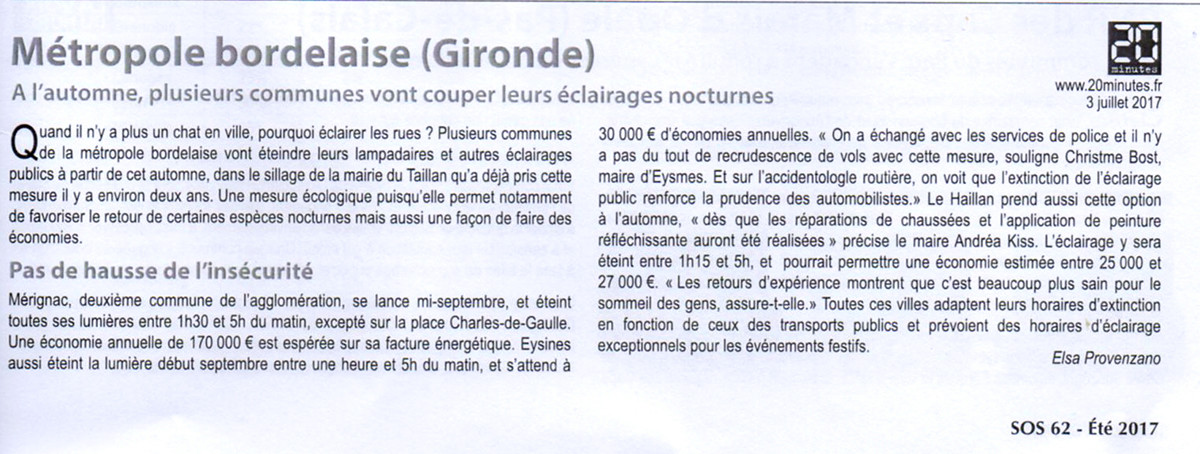 ANPCEN : luttons contre la pollution lumineuse - Page 3 Articl10