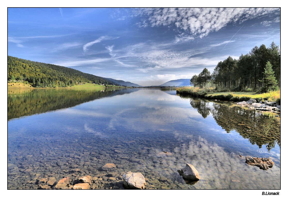 Au lac des Rousses, ce matin Rousse10