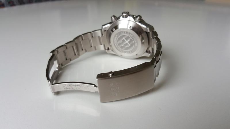ward - un chronographe de plongée Christopher Ward, Trident C60 pro 600. 20170719