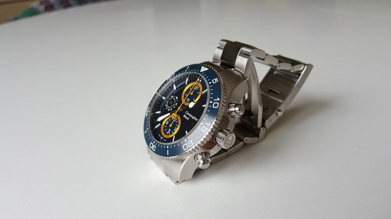 ward - un chronographe de plongée Christopher Ward, Trident C60 pro 600. 20170723