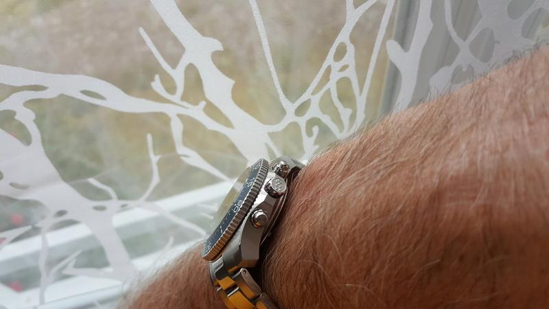 ward - un chronographe de plongée Christopher Ward, Trident C60 pro 600. 20170725