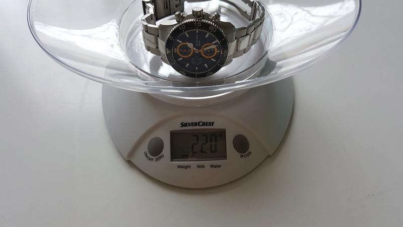 ward - un chronographe de plongée Christopher Ward, Trident C60 pro 600. 20170728