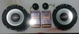 Atomic Component Speakers + 2way Crossover (sold ) Atomic10