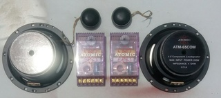 Atomic Component Speakers + 2way Crossover (sold ) Atomic11